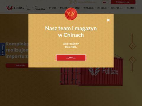 Import z Chin - Fullbax