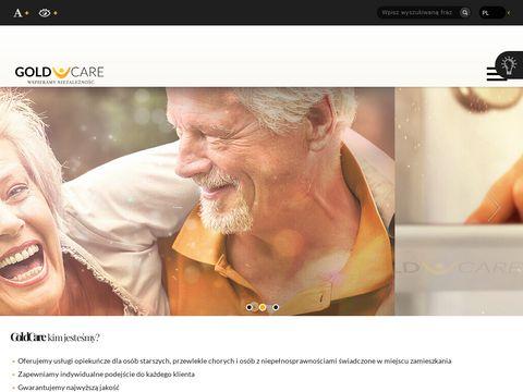 Goldcare - usługi opiekuńcze w domu