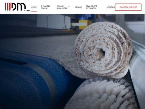 Pralnia dywanów Warszawa - Damat.pl