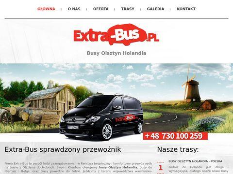 Extra-Bus busy Olsztyn Holandia