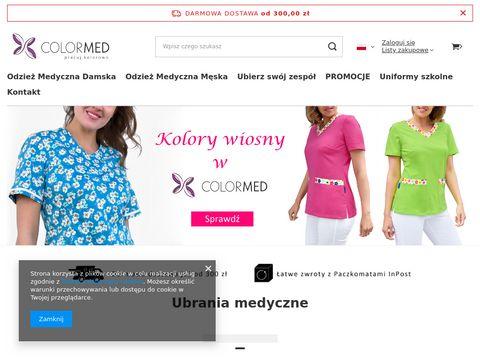 Bluzy medyczne - colormed.pl
