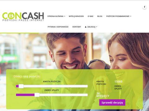 Prywatna pożyczka - concash.pl