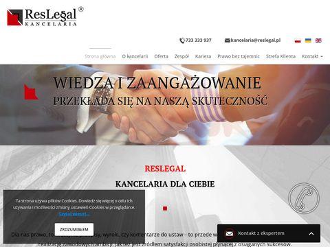 Kancelaria adwokat Rzeszów Reslegal