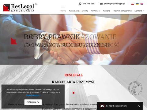 Adwokat Przemyśl Reslegal kancelaria