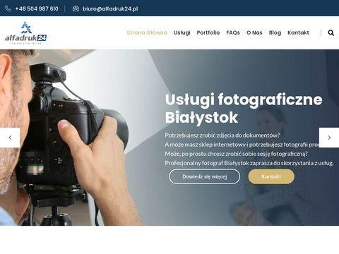 Alfa Druk - naprawa komputerów Białystok
